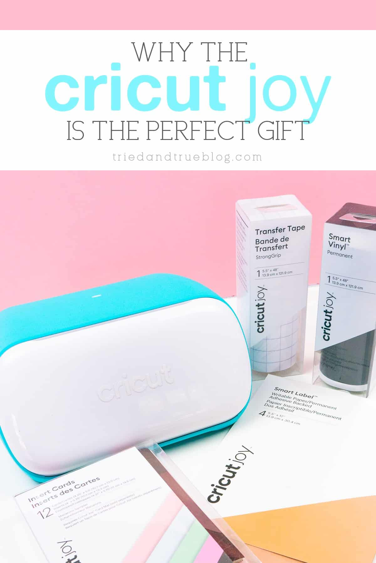 Why the Cricut Joy is the perfect holiday gift